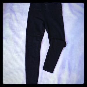 Ann taylor thick legging in brown